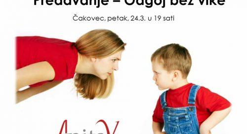Predavanje za roditelje – Odgoj bez vike